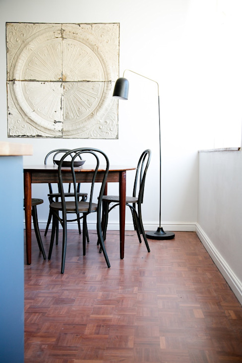 LITTLE MS DYNAMITE AND THE URBAN GEM Eclectic style dining room by homify Eclectic