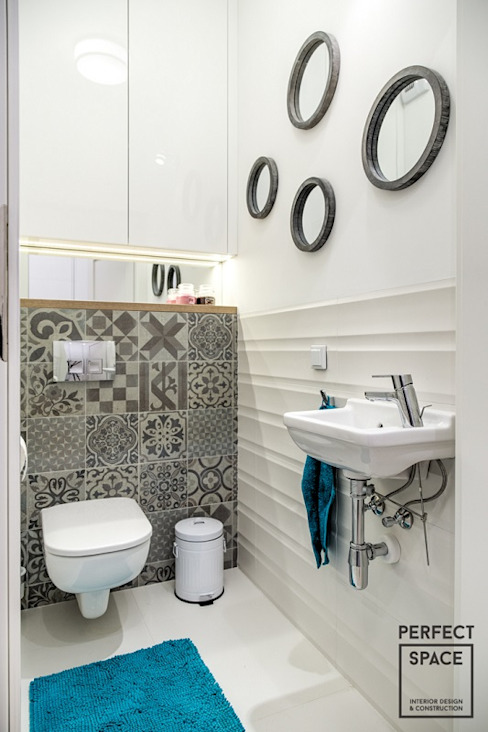 Modern bathroom by Perfect Space Modern