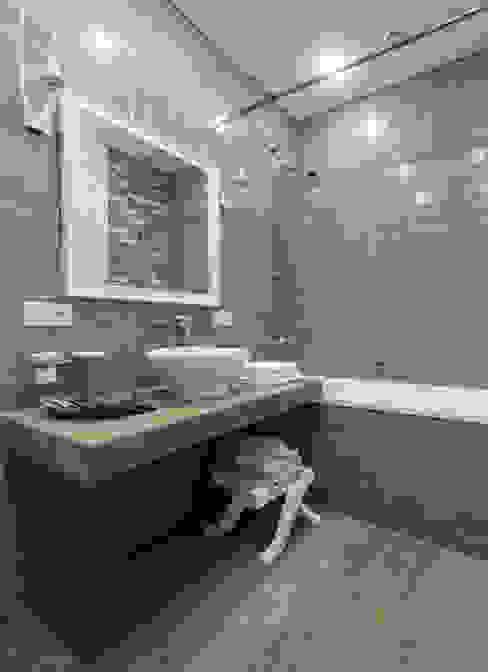 Coconut - романтический лофт Ванная в стиле лофт от Irina Derbeneva Лофт