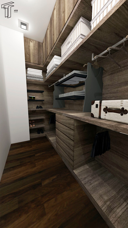 Dressing room by TAMEN arquitectura,