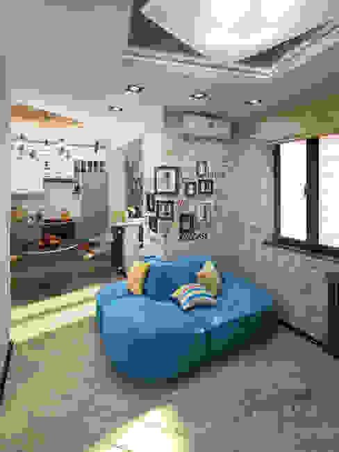 Salon de style  par Студия Инстильер | Studio Instilier, Industriel