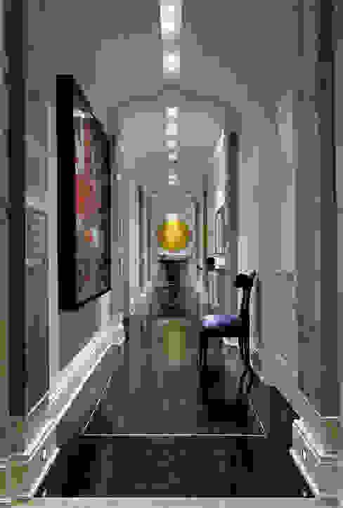 Hallway Classic style corridor, hallway and stairs by Douglas Design Studio Classic