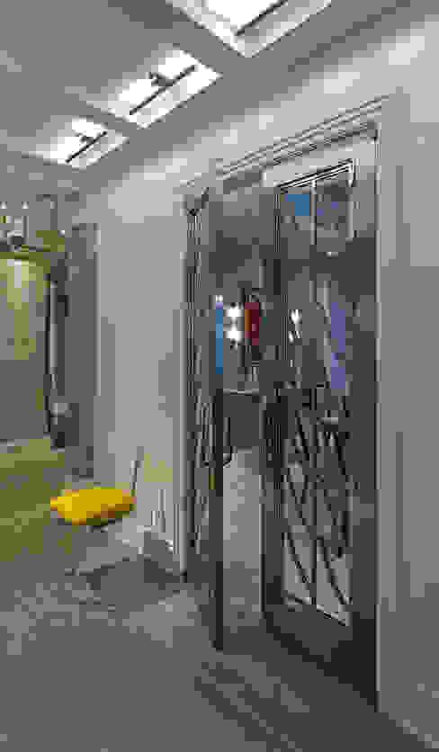 Art Deco Doors Classic style corridor, hallway and stairs by Douglas Design Studio Classic