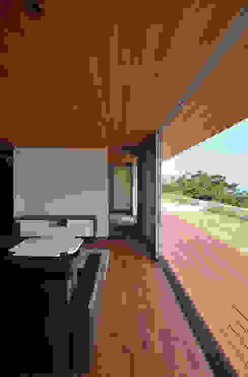 Terrazas de estilo  por 門一級建築士事務所,