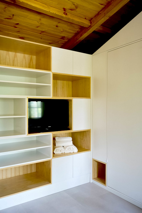Bedroom by Tó Liss, Modern Wood Wood effect
