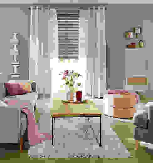 UNLAND International GmbH Windows & doors Curtains & drapes Textile Beige