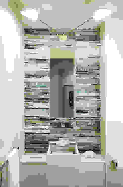 Powder Room Douglas Design Studio Classic style bathroom Multicolored