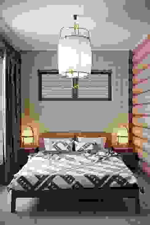 Industrial style bedroom by Дизайн студия Алёны Чекалиной Industrial