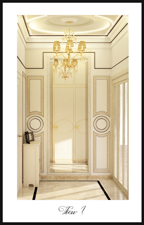 Salle de bain classique par Дизайн-бюро Анны Шаркуновой 'East-West' Classique