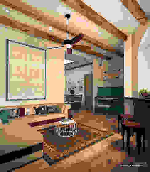 Mediterranean style living room by IvE-Interior Mediterranean