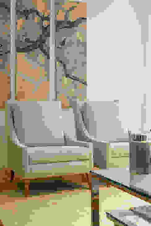 Sala Comum - Zona de Estar Traço Magenta - Design de Interiores Sala de estarAcessórios e Decoração