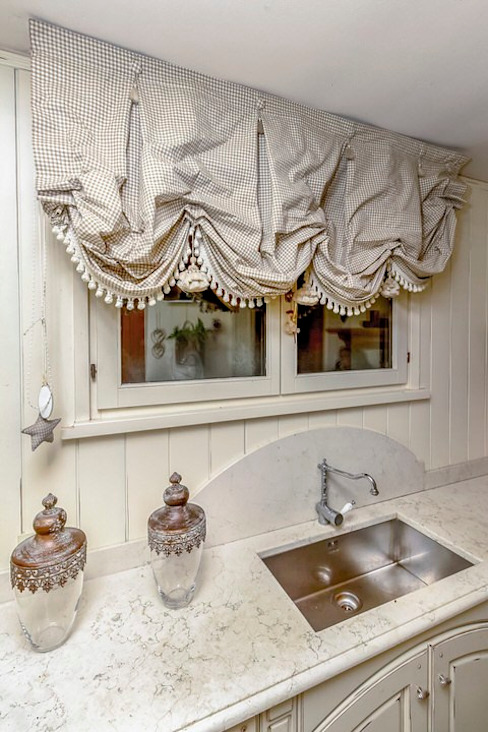 por casa&stile interior design e ristrutturazioni Rústico Mármore