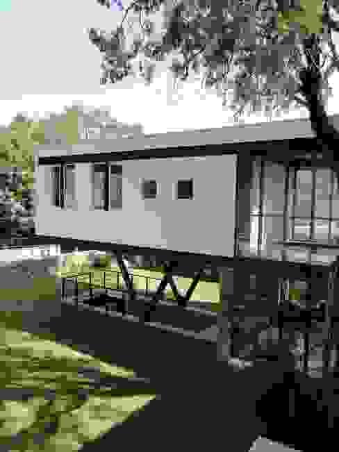 rochen Minimalist house Metal White
