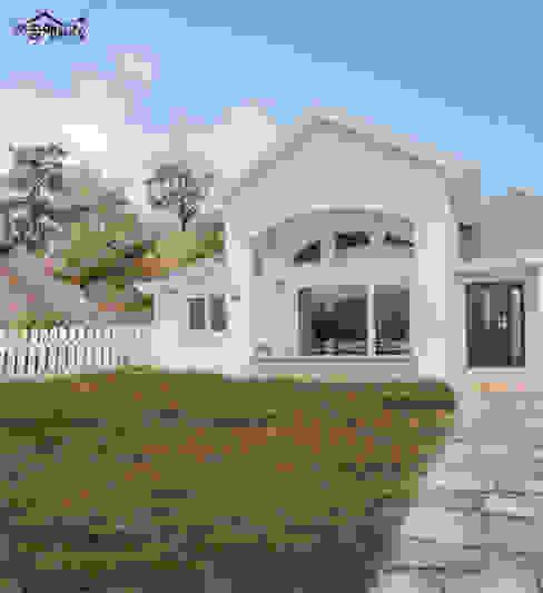 Śródziemnomorskie domy od 꿈애하우징 Śródziemnomorski