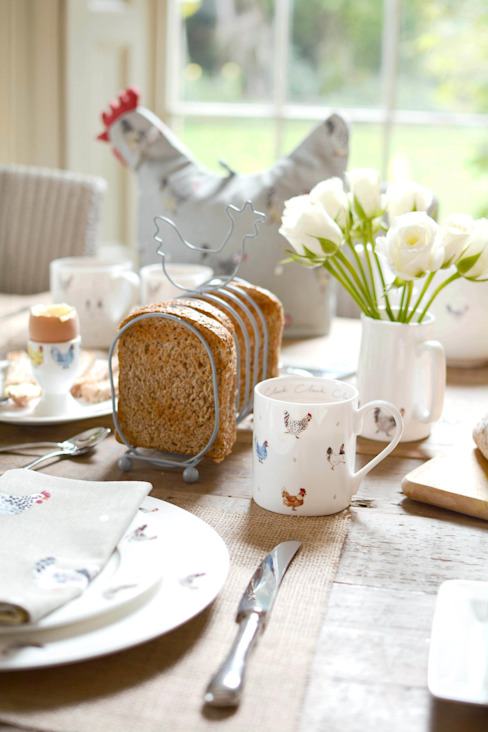 Sophie Allport's 'Lay a little egg' collection de Sophie Allport Rural Cerámico
