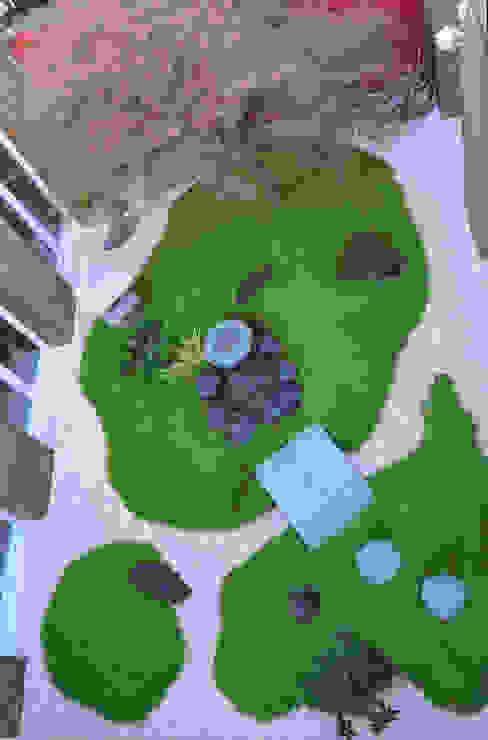 Asian style garden by JARDIN JAPONAIS Asian