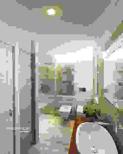 Baños de estilo moderno de Beniamino Faliti Architetto Moderno