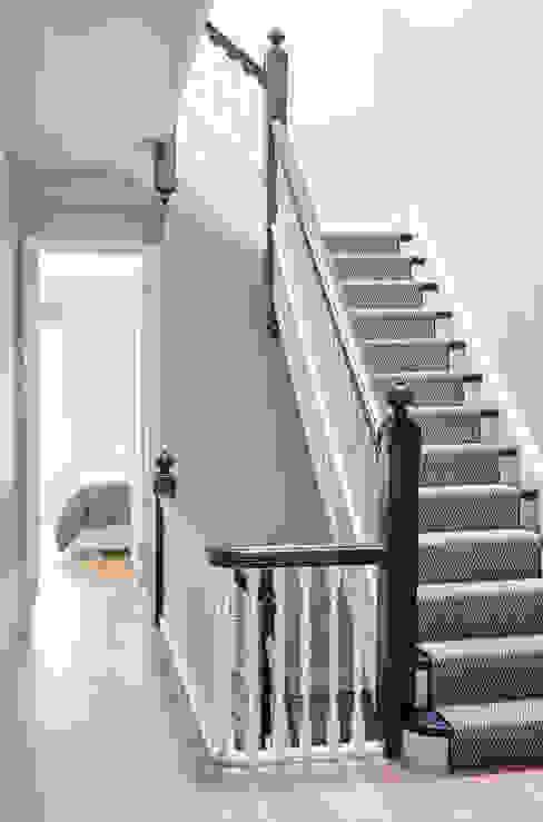 Park Slope Townhouse Modern Corridor, Hallway and Staircase by Sarah Jefferys Design Modern