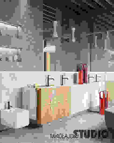 Modern style bathrooms by MIKOLAJSKAstudio Modern