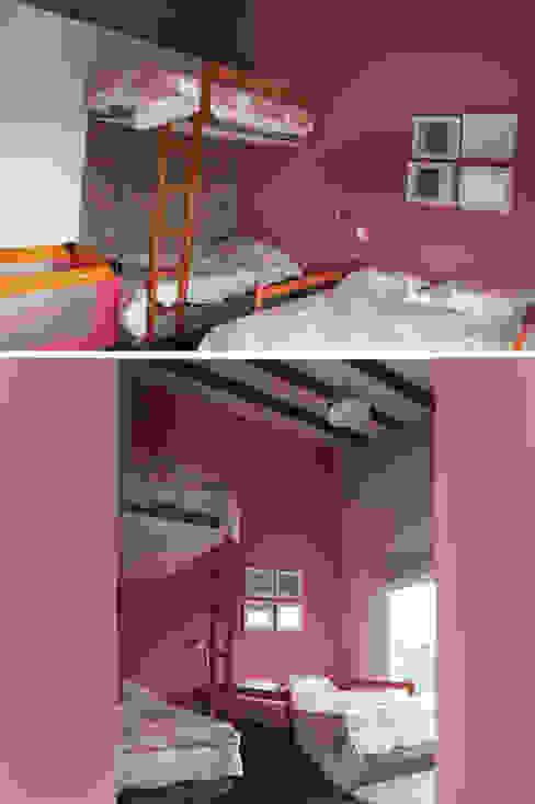 Dormitorios rústicos de malu goni Rústico