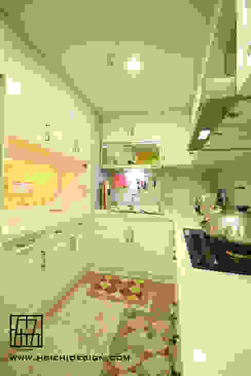 協億室內設計有限公司 Nhà bếp phong cách Bắc Âu
