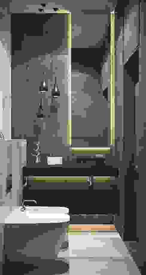 No Place Like Home ® Baños de estilo moderno