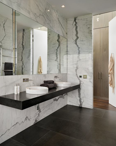 Modern bathroom by No Place Like Home ® Modern