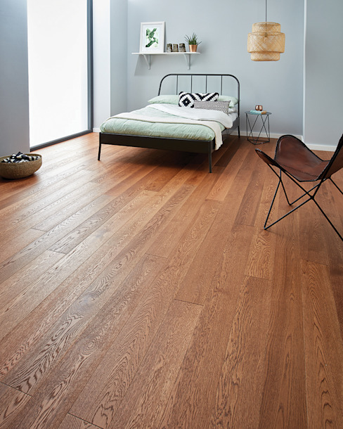 Raglan Coffee Oak by Woodpecker Flooring Rustic Engineered Wood Transparent