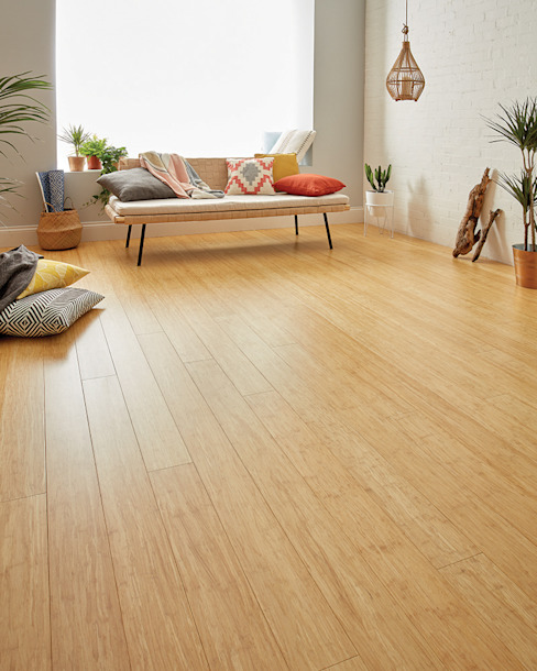 牆面 by Woodpecker Flooring, 現代風 竹 Green