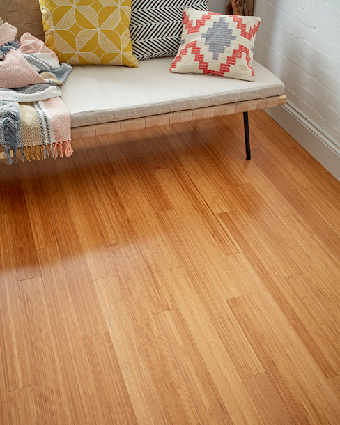 Walls by Woodpecker Flooring, Modern Bamboo Green