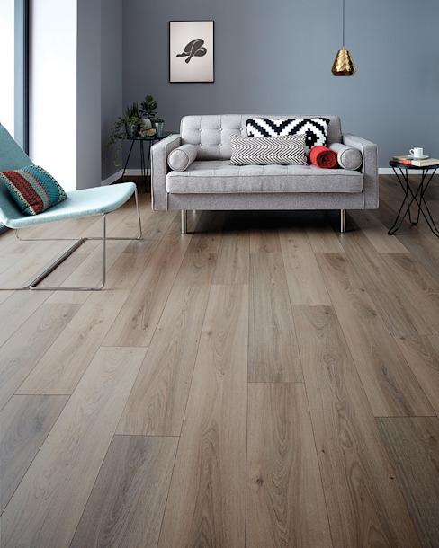 Wembury Nordic Oak من Woodpecker Flooring حداثي خشب Wood effect