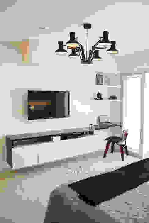 Departamento Barranco: Dormitorios de estilo  por DMS Arquitectas, Moderno
