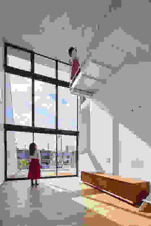 Modern Oturma Odası 武藤圭太郎建築設計事務所 Modern