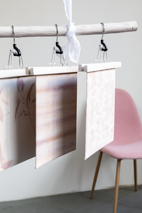 homify Living roomAccessories & decoration Paper Pink