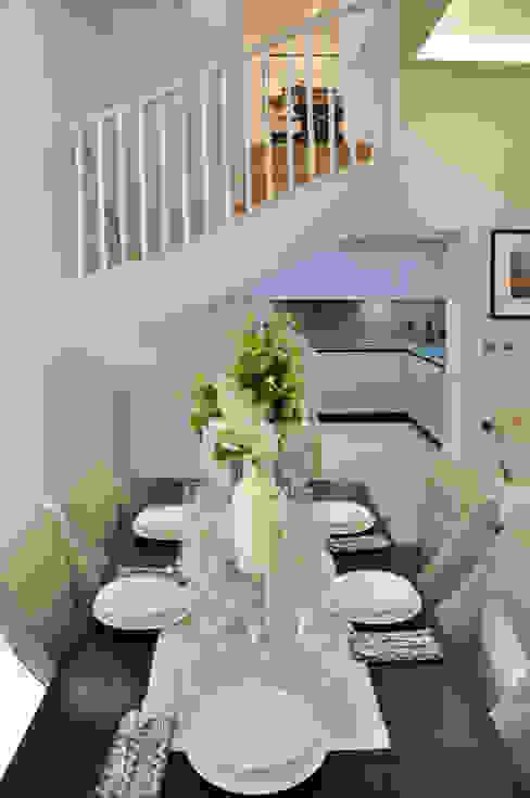 Apartment Renovation Phòng ăn phong cách hiện đại bởi homify Hiện đại