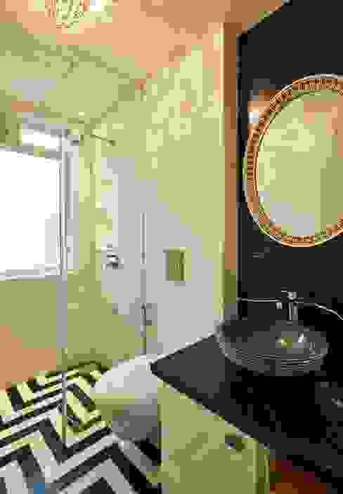 powder bathroom Modern bathroom by homify Modern