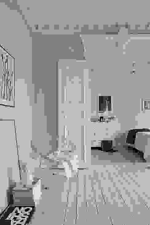 Salas de estilo escandinavo de Design for Love Escandinavo