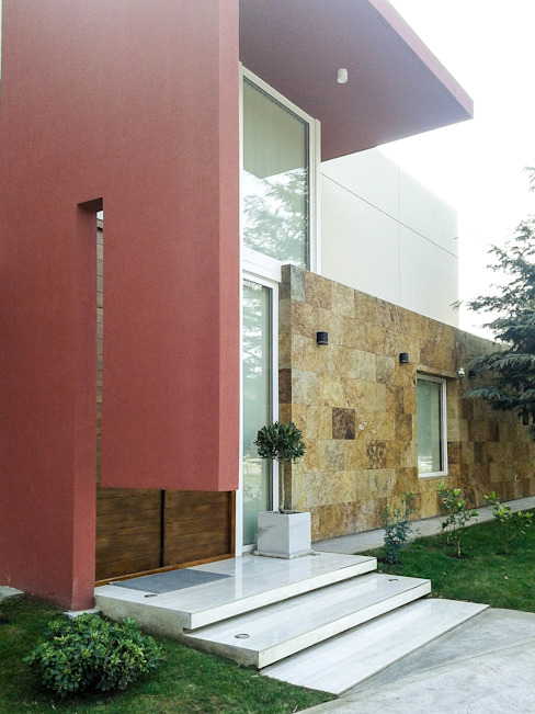 Casa en Rumencó Casas modernas: Ideas, imágenes y decoración de id:arq Moderno