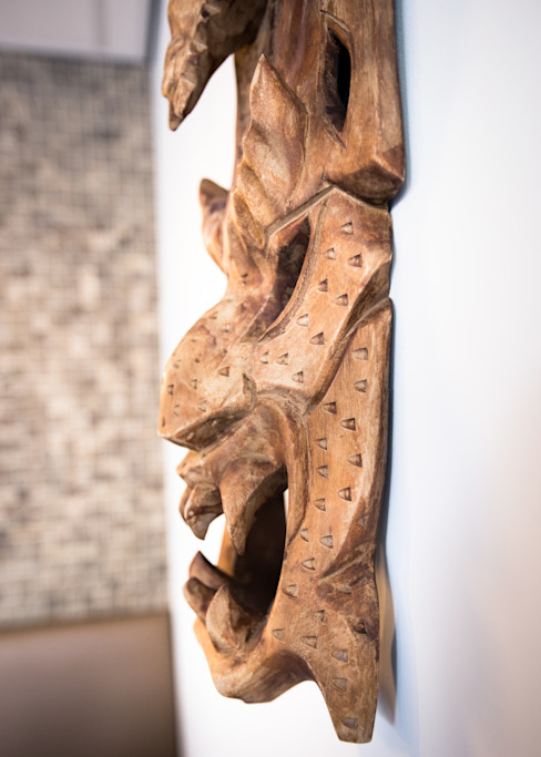 Gastronomía de estilo asiático de Ien Interieurontwerp Advies Projectbegeleiding Asiático Madera Acabado en madera