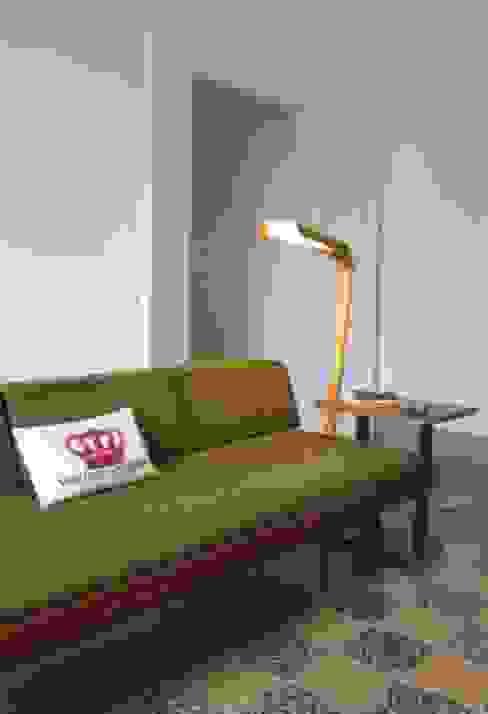 La casa dei binari Laura Pistoia architetto Soggiorno eclettico