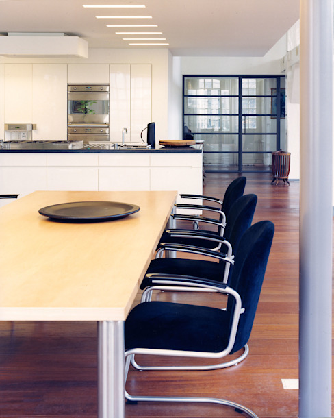 Pakhuis, Amsterdam Moderne keukens van VASD interieur & architectuur Modern