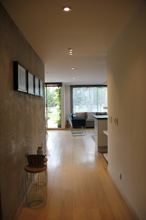 Pasillo Social KDF Arquitectura Pasillos, vestíbulos y escaleras de estilo moderno Concreto
