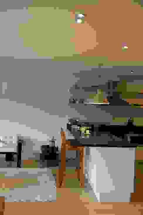 Cocina Abierta: Cocinas de estilo  por KDF Arquitectura, Moderno