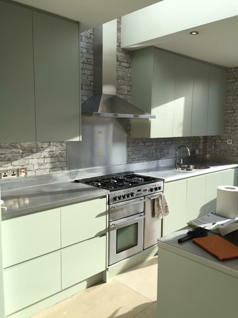 Kitchen من homify حداثي