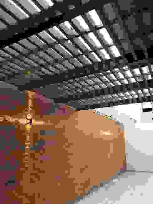 Balcones y terrazas modernos de Síntesis Arquitectónica ® Moderno