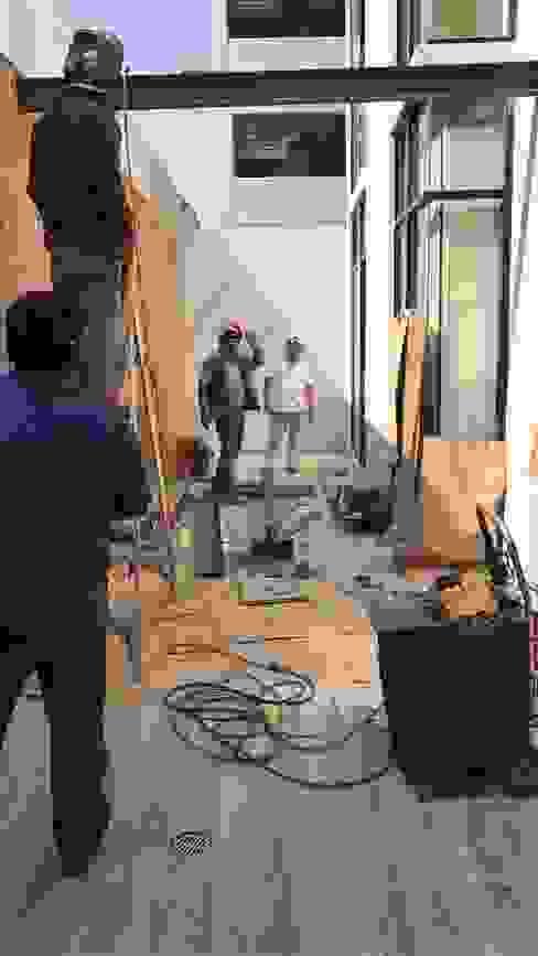 Síntesis Arquitectónica ® Balcon, Veranda & Terrasse modernes