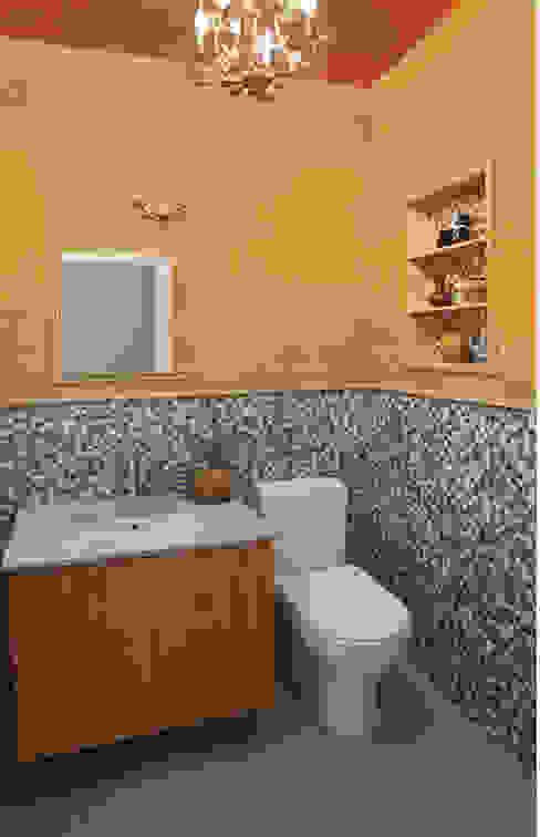 Basement Renovation - Ardsley House Modern Bathroom by Eisner Design Modern