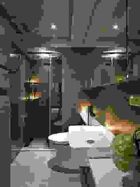 Salle de bains de style  par 晨室空間設計有限公司, Moderne