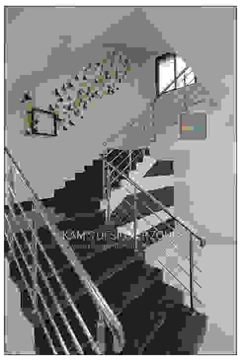 Wall Design :  Walls & flooring by KAM'S DESIGNER ZONE