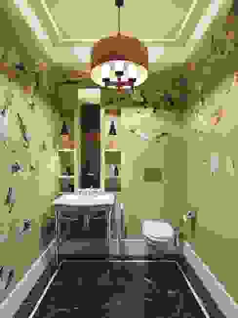 Квартира в ЖК Розмарин: Ванные комнаты в . Автор – MARION STUDIO,